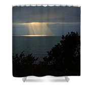 Last Sunbeams Of The Day Shower Curtain