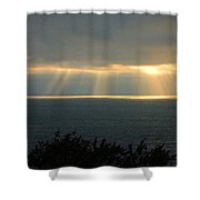 Last Sunbeams Of The Day Two Shower Curtain
