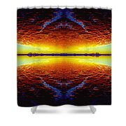 Last Sunset Shower Curtain