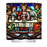Last Supper, Brussels Shower Curtain