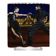 Last Tango In Paris Shower Curtain