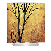 Last Tree Standing By Madart Shower Curtain