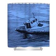 Last Voyage  Shower Curtain