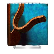 Latch Shower Curtain