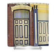 Late 1800s Door Shower Curtain