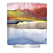 Late Afternoon 01 Shower Curtain