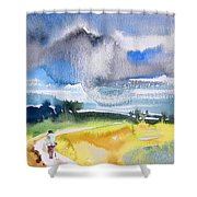 Late Afternoon 04 Shower Curtain