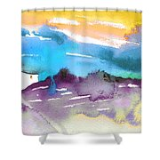 Late Afternoon 12 Shower Curtain