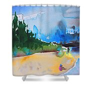 Late Afternoon 17 Shower Curtain