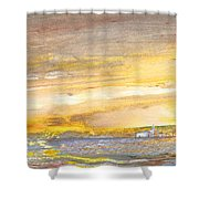 Late Afternoon 26 Shower Curtain