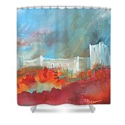 Late Afternoon 32 Shower Curtain