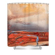 Late Afternoon 34 Shower Curtain