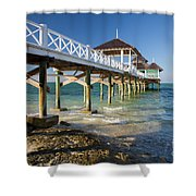 Late Afternoon At Kamalame Cay Shower Curtain