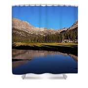 Late Afternoon At Mcclure Meadow Shower Curtain
