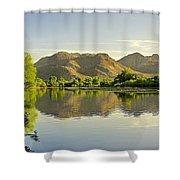Late Afternoon At Rio Verde River Shower Curtain
