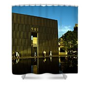 Late Afternoon At The East Wall.okcnm.2 Shower Curtain