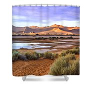 Late Afternoon Rain Shower Curtain