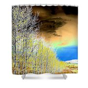 Late Autumn Shower Curtain by Will Borden