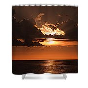 Late In The Day 1 Shower Curtain