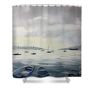 Late In The Day Shower Curtain