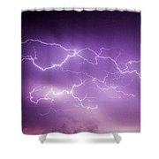 Late July Storm Chasing 082 Shower Curtain