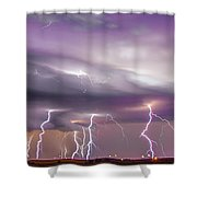 Late July Storm Chasing 086 Shower Curtain