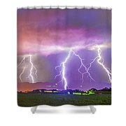 Late July Storm Chasing 087 Shower Curtain