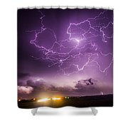 Late July Storm Chasing 088 Shower Curtain