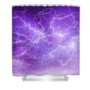 Late July Storm Chasing 089 Shower Curtain