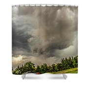 Late May Chase Day 008 Shower Curtain