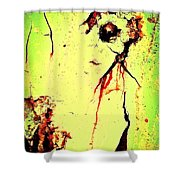 Bar Talk With Bela Shower Curtain