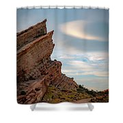 Late On Vasquez Rocks By Mike-hope Shower Curtain