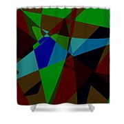 Late Party Shower Curtain