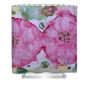 Late Summer Rose V Rosariet Shower Curtain