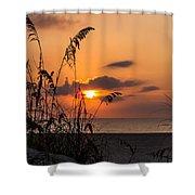 Late Sunrise 3 Shower Curtain