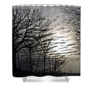 Late Winter Afternoon Shower Curtain