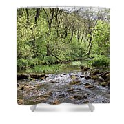 Lathkill River Shower Curtain