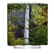 Latourell Falls Shower Curtain