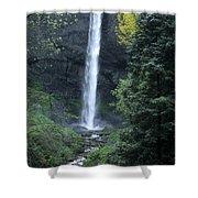 Latourelle Falls-columbia River Gorge Shower Curtain