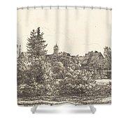 Lauban In Silesia Shower Curtain