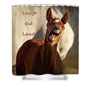 Laugh Out Loud Shower Curtain