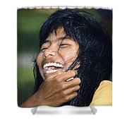 Laughing Out Loud Shower Curtain