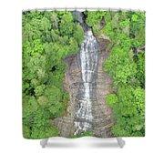 Laughing Whitefish Falls Shower Curtain