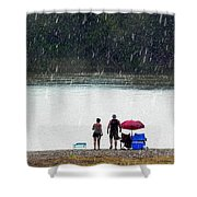 #171 Laughter In The Rain Shower Curtain