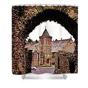 Launceston Castle South Gatehouse Shower Curtain