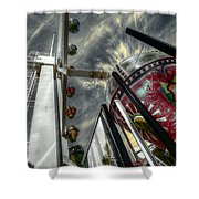 Launch Pad Shower Curtain