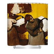 Laundresses Shower Curtain
