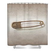Laundry Pin Shower Curtain