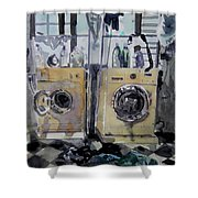 Laundry Room. Shower Curtain