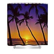 Launiupoko Sunset Shower Curtain